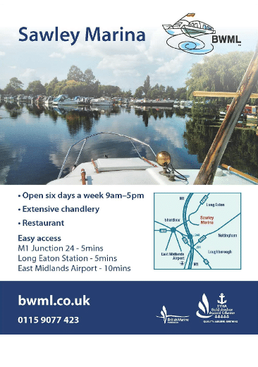 Sawley Marina advert