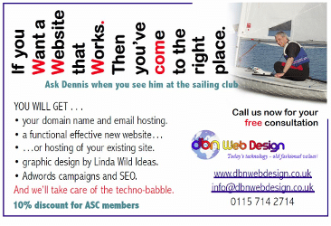 DBN Web Design advert