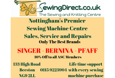 Sewing Direct advert